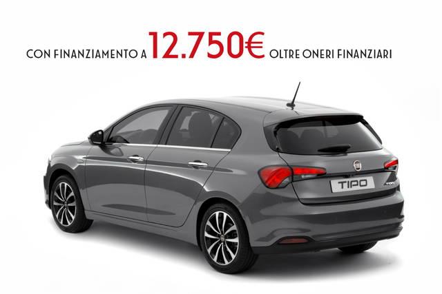 Fiat Tipo 5 porte: in promozione da 12.750 euro