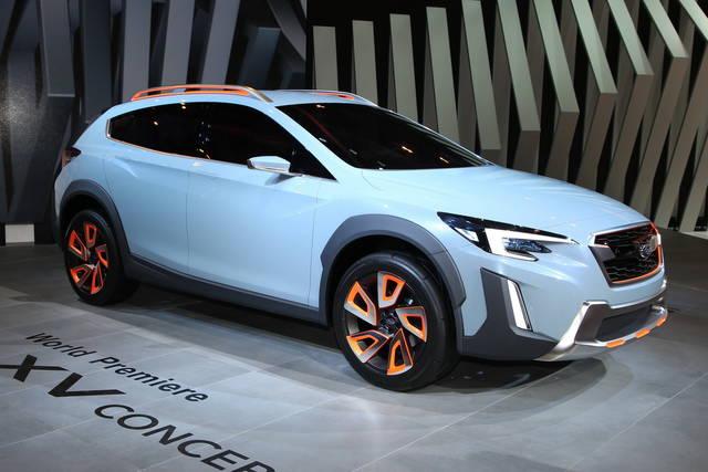 La prossima Subaru XV prenderà spunto da lei