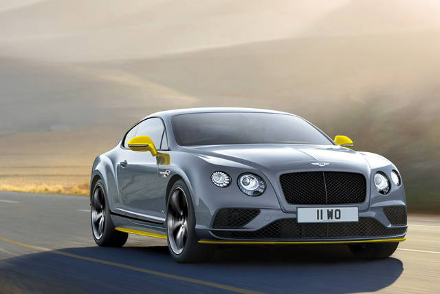 Bentley Continental GT Speed: arriva la Black edition