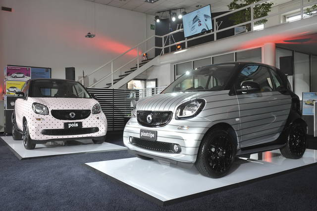 Le Smart di Garage Italia Customs