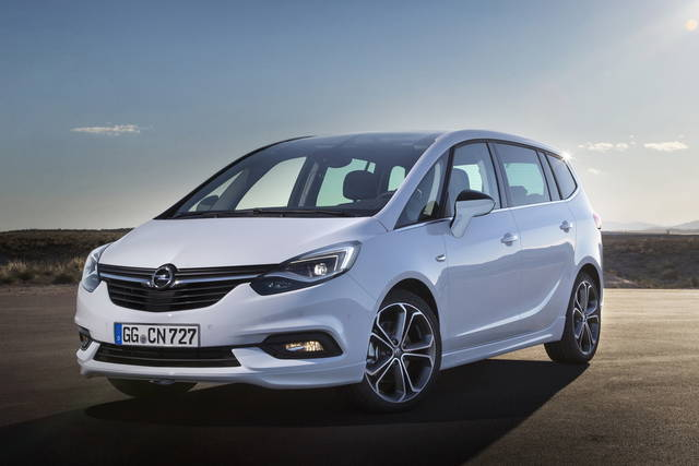 Opel Zafira Nuovo Look E Nuovi Contenuti