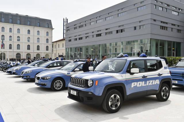 Due nuove auto per la polizia di stato for Garage range rover la rochelle