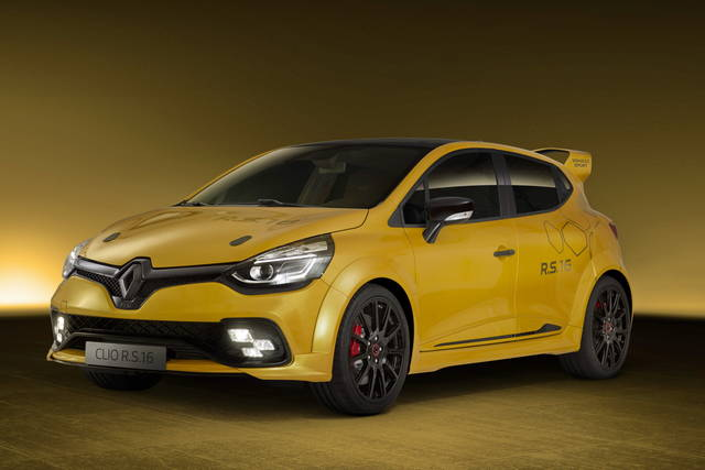 clio rs 16 per i 40 anni della renault sport. Black Bedroom Furniture Sets. Home Design Ideas