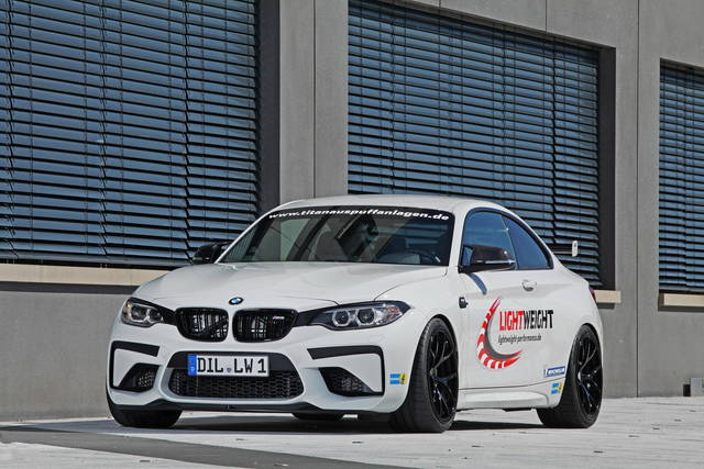 Una BMW M2... d'assalto
