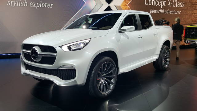 Mercedes Concept X-Class: il pick-up di lusso
