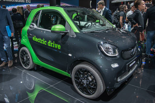 Smart Electric Drive: nate per la città