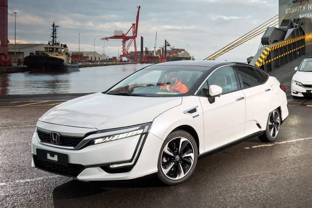 Le Honda Clarity sbarcano in Europa