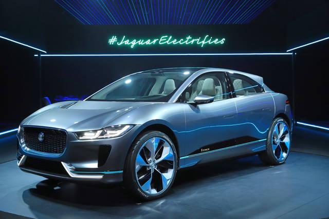 Jaguar I-Pace: prove di crossover elettrico