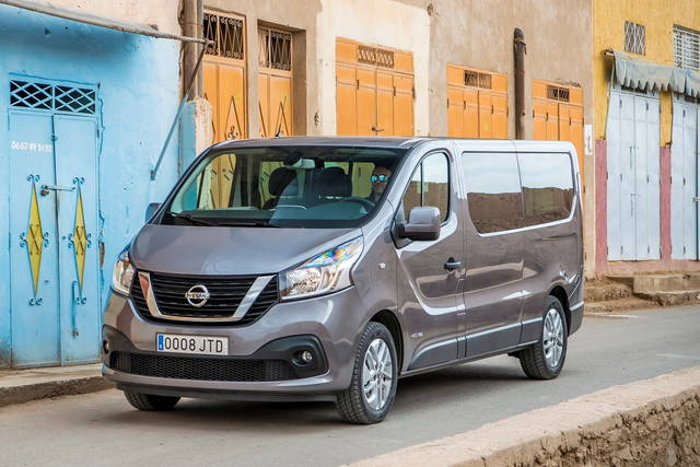 Nissan NV300: giapponese con passaporto francese