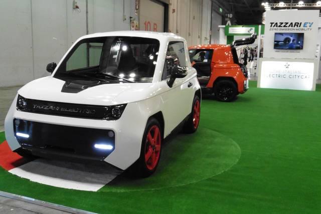 Le microcar elettriche presentate all'Eicma 2016