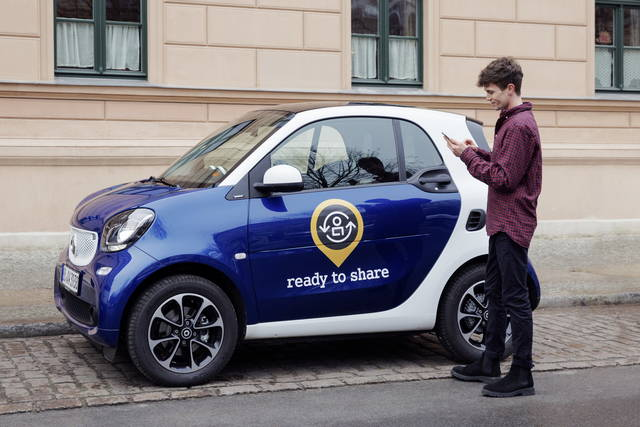 La Smart lancia il car sharing tra privati