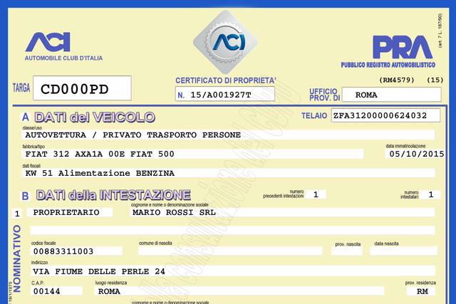 Certificato Di Propriet 224 Digitale Al Via Il 5 Ottobre