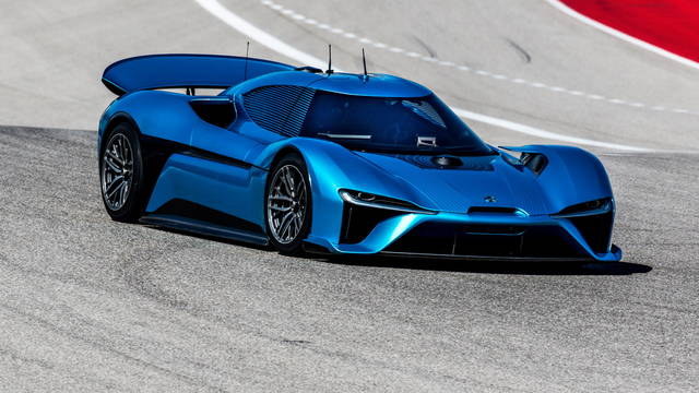 Nio EP9, record al Circuit of the Americas
