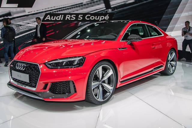Audi RS 5: 450 CV dal V6 biturbo