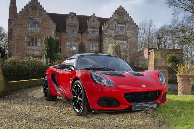 Lotus Elise: arriva la versione alleggerita Sprint