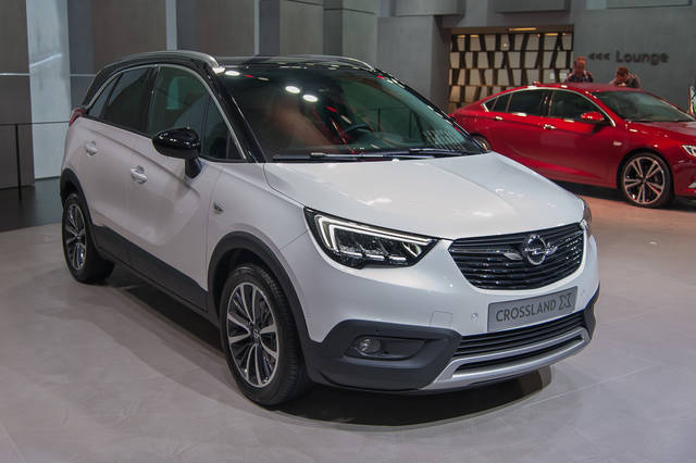 opel crossland x crossover da citt. Black Bedroom Furniture Sets. Home Design Ideas