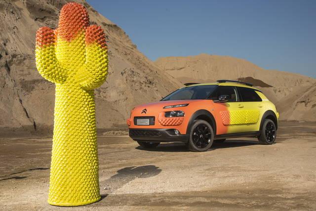 Una Citroën C4 Cactus ispirata al design Gufram