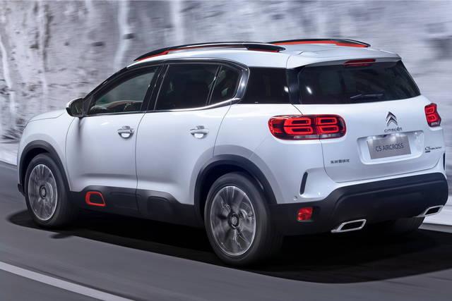 Citroën C5 Aircross: una suv ricca d'innovazioni