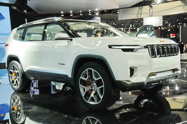 Jeep Yuntu: una 7 posti per la Cina