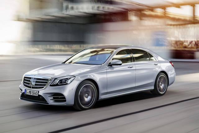 Mercedes S: tante novità per l'ammiraglia