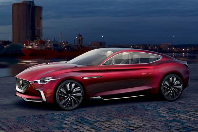 MG E-Motion: un motore elettrico per la coupé