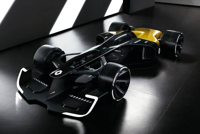 Renault R.S. 2027 Vision, la Formula 1 del futuro
