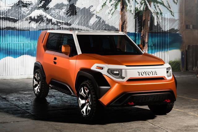 Toyota FT-4X Concept: la piccola off-road