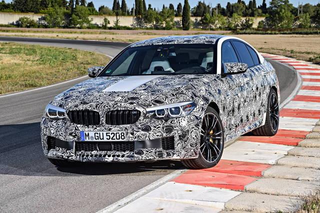 BMW M5 2017: le prime informazioni