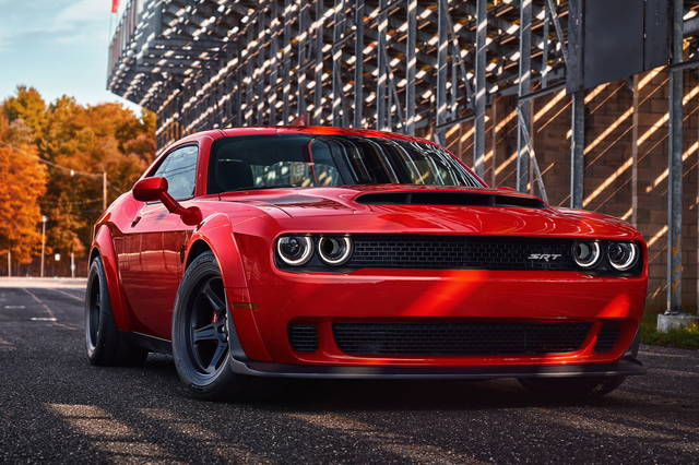 "Dodge Challenger SRT Demon: la ""muscle car"" più potente"