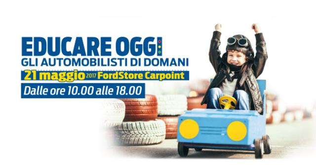 Ford: a Roma una giornata per i bambini sulla sicurezza stradale