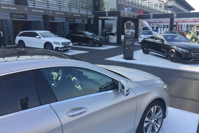 """A Company Car Drive la Mercedes punta sul """"green"""""""