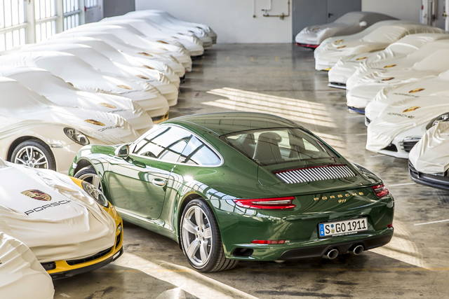 Porsche 911 costruito il milionesimo esemplare for Porsche ka che