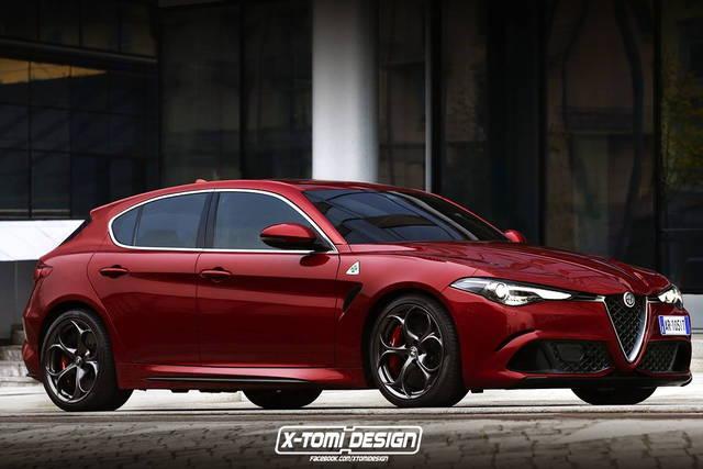 Alfa Romeo Giulietta: un rendering prova ad immaginarla