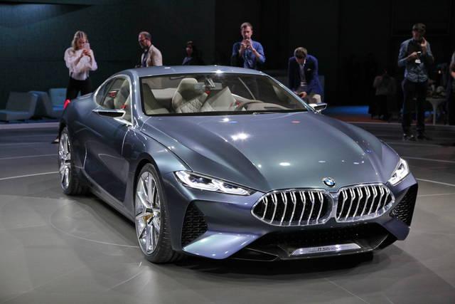 serie 8 concept: il ritorno della coupé di gran lusso