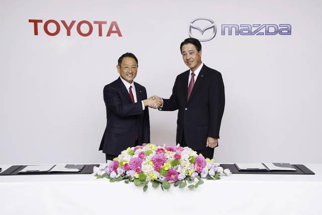 Mazda-Toyota: collaborazione ancora più stretta