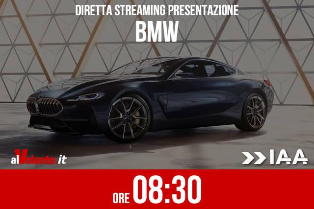 Francoforte 2017: la presentazione BMW in diretta