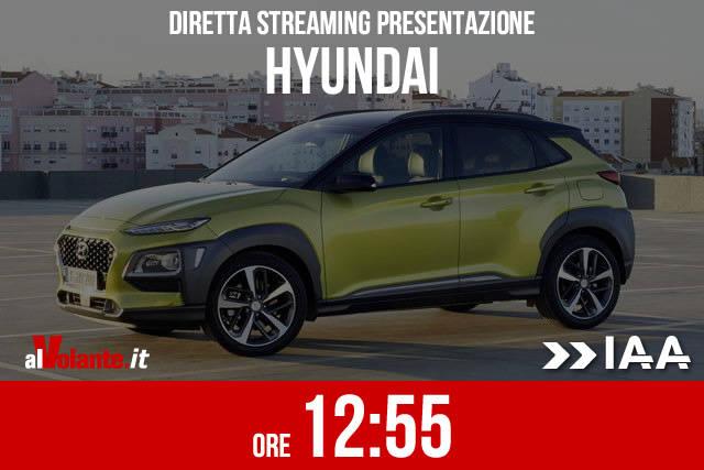 Francoforte 2017: la presentazione Hyundai in diretta