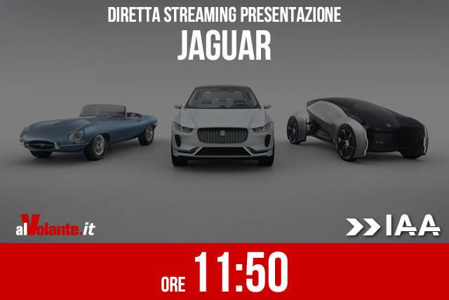 Francoforte 2017: la presentazione Jaguar in diretta