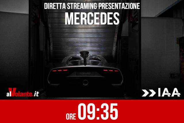 Francoforte 2017: la presentazione Mercedes in diretta