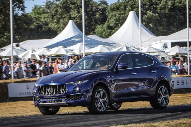 La Maserati al Festival of Speed 2018: la gallery
