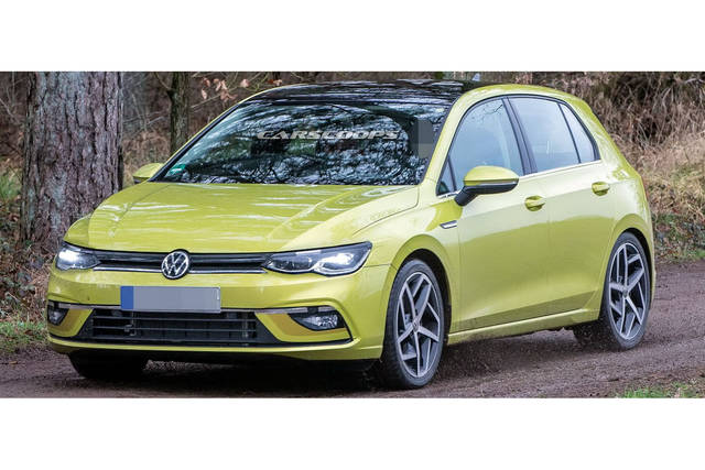 volkswagen golf 8 debutto posticipato a fine 2019. Black Bedroom Furniture Sets. Home Design Ideas