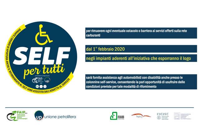Disabili: il pieno senza barriere e senza extra