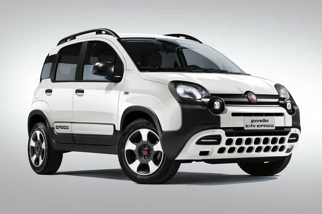 fiat panda arriva la city cross. Black Bedroom Furniture Sets. Home Design Ideas