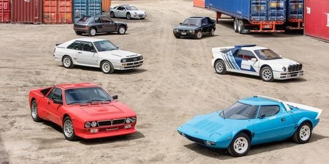 Storica asta per sette mitiche auto da rally