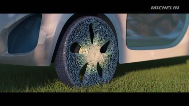 Michelin Visionary Concept: si rigenera con la stampa 3D