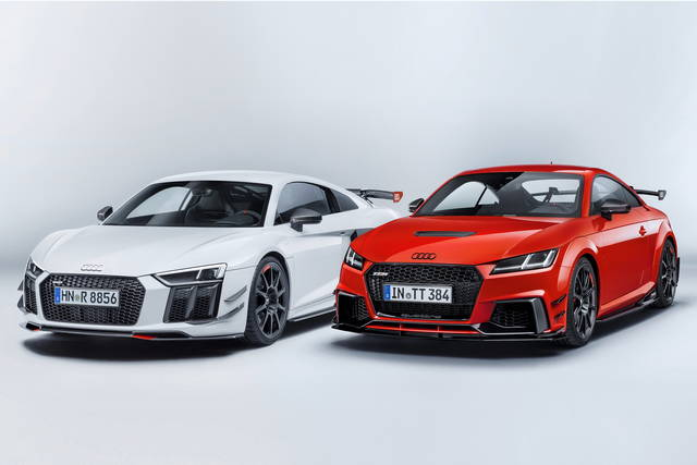 Audi Sport Performance Parts: nuovi accessori per le TT e R8