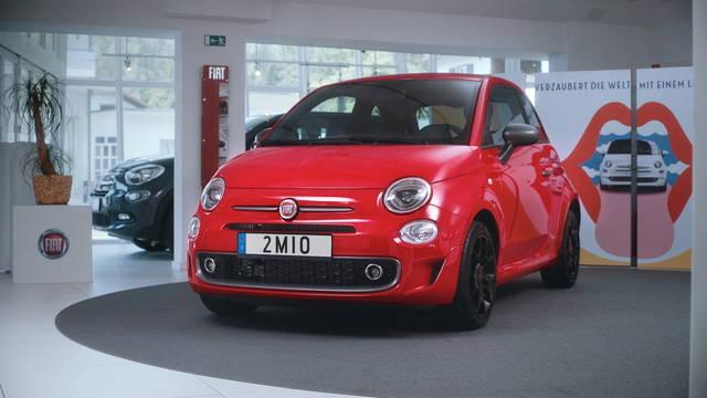 Fiat 500: consegnato l'esemplare numero 2 milioni