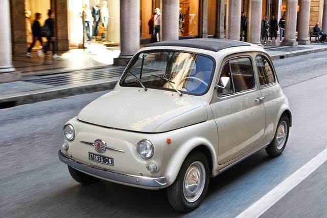 Fiat 500: un'auto da museo