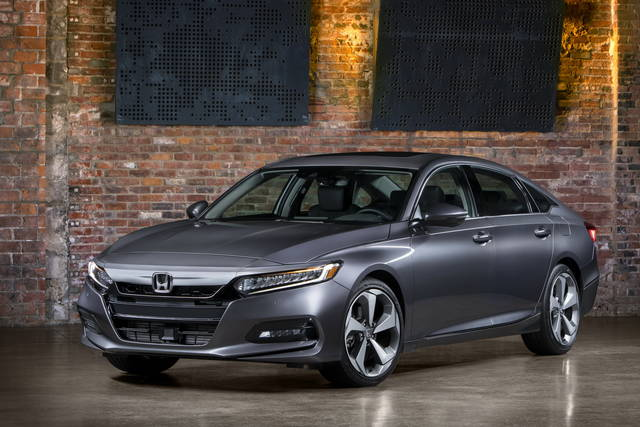 Honda Accord: buona la decima