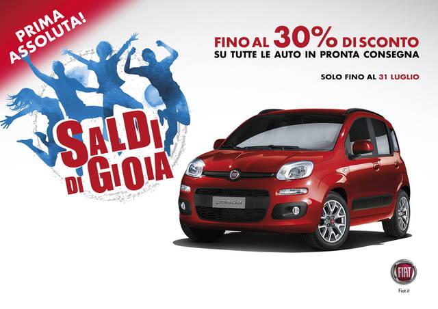 Stagione di saldi per Fiat e Lancia